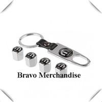 4caps/set cars accessaries  wheel tire tyre valve caps silver Leather buckle covers with mopar car logo brands emblem badge