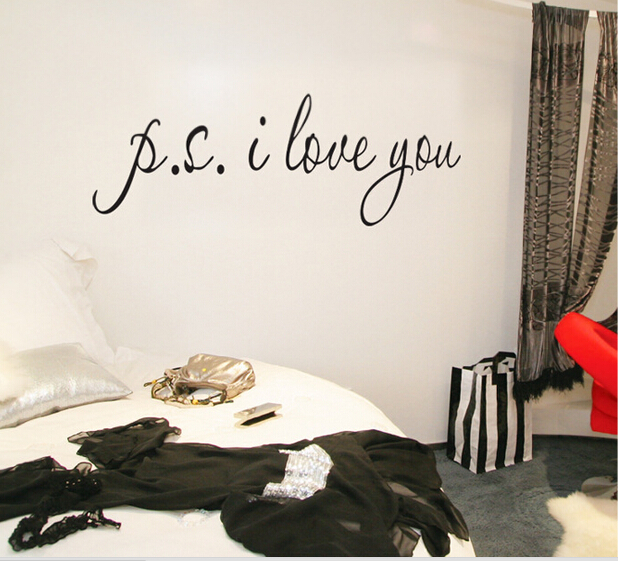 Ps I Love You Quotes Funny : Pics Photos - Ps I Love You Wall Art Decal Home Decor Famous