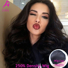 250% Density Glueless Full Lace Human Hair Wigs Front Lace Wigs Body Wave Lace Front Human Hair Wigs For Black Women CARA Wigs(China (Mainland))