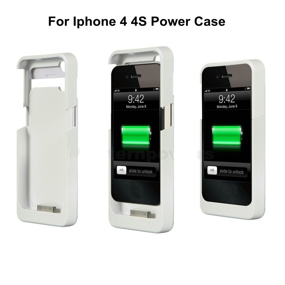 1900mah quick charging battery cover for iphone 4 4s. Black Bedroom Furniture Sets. Home Design Ideas