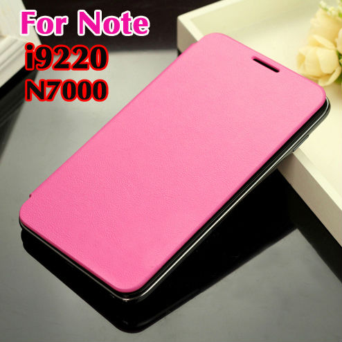 For Samsung Galaxy Note 1 N7000 7000 I9220 9220 Original Flip Leather Back Cover Cases Battery Housing Case Protector Holster