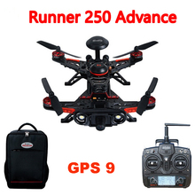 Walkera Runner 250 Advance Runner 250(R) Racer RC Drone Quadcopter  with DEVO 7 / 1080P Camera /OSD / backpack GPS 9 Version RTF(China (Mainland))
