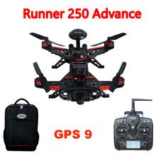 Walkeraวิ่ง250ล่วงหน้าวิ่ง250 (R) แข่งRC Q Uadcopterจมูกด้วยกล้องดีโว7/1080จุดกล้อง/ OSD/กระเป๋าเป้สะพายหลังจีพีเอส9รุ่นRTF