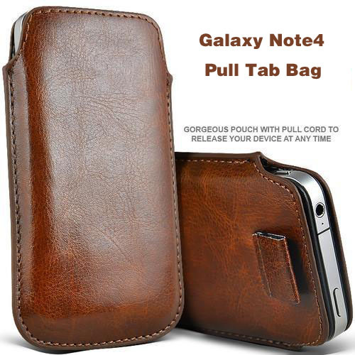 For Galaxy Note4 PU Sleeve Leather Pouch Bag Mobile Phone Bag For Galaxy Note 4 i9100 i9101 Cover Free Shipping(China (Mainland))