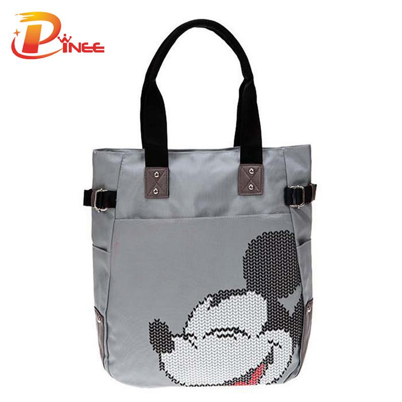 2016 new spring fashion printing shoulder bags Oxford handbag big tote fashion shopping bag wholesale(China (Mainland))