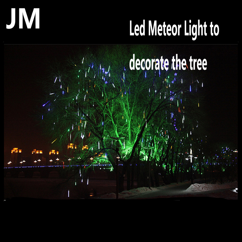 Waterproof IP65 SMD3528 LED Tree Decorated lights 10pcs/set package snow fall perform(China (Mainland))