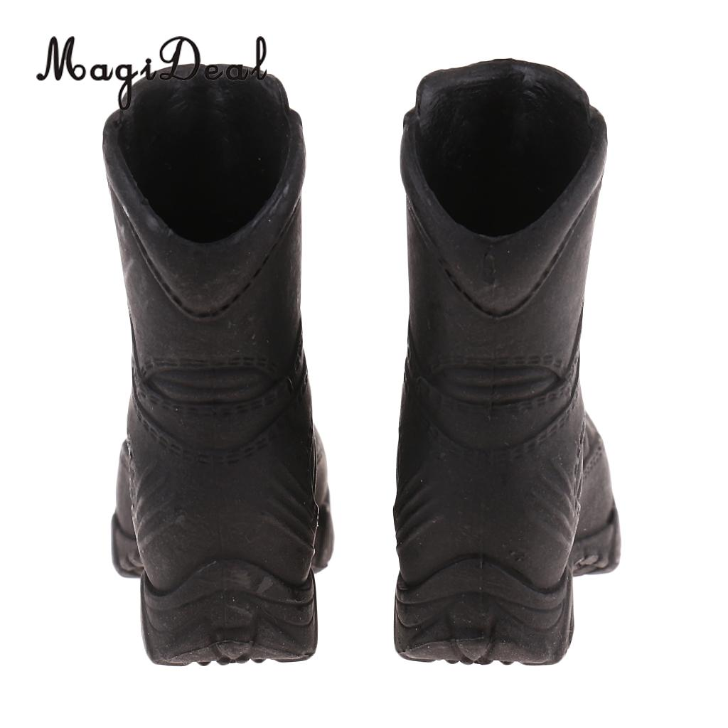 MagiDeal 1/6 Scale Policewoman Military Shoes Combat Boots for 12 Inch Female Soldier Body Action Figure Accessories