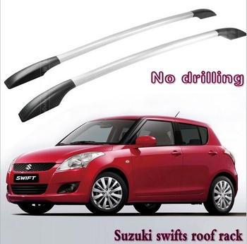 Fit Suzuki Swifts Aluminium Alloy Roof Rack Car-top Racks No Drilling 1.3m