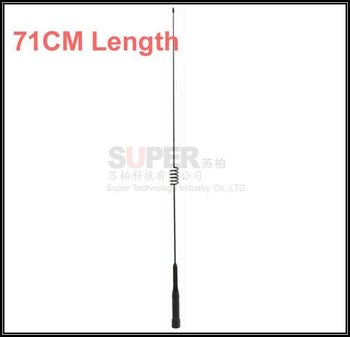 50W 5.5dbi,dual band 144/430Mhz antenna,car vehicle FM radio station antenna,car radio walkie talkie interphone antenna,DHLfree