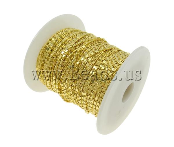 Free shipping!!!Brass  Chain,Wedding Jewelry, gold color plated, nickel, lead &amp; cadmium free, 1.80x4.70x0.40mm<br><br>Aliexpress