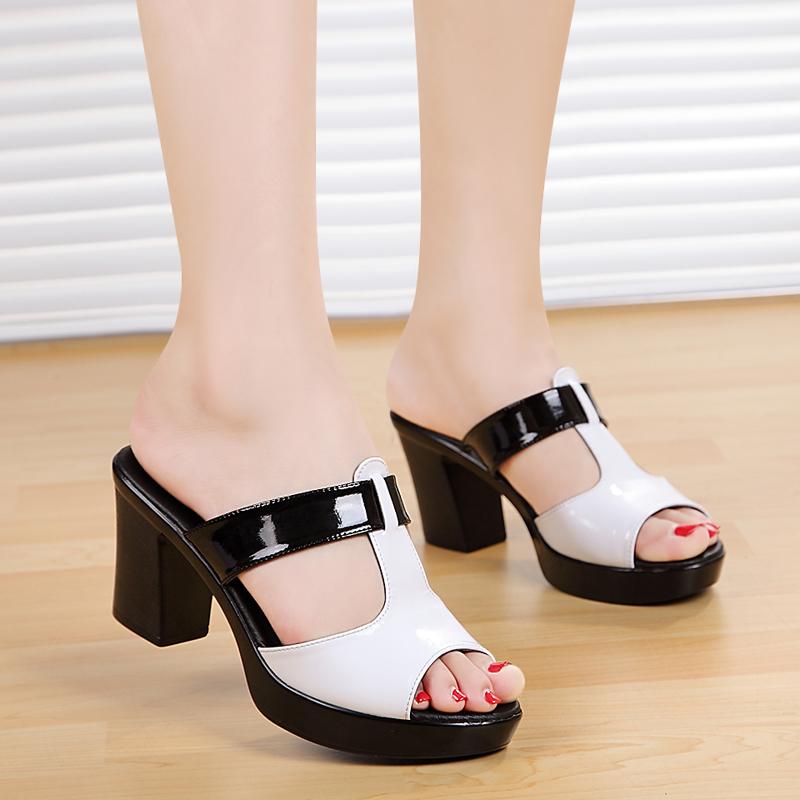 genuine leather plus size 40 platform shoes 2016 new