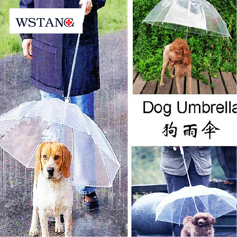 W S TANG 2015 Hot,pet dog protective rain umbrella, fashion sunny umbrella, have a tring for walk the dog(China (Mainland))