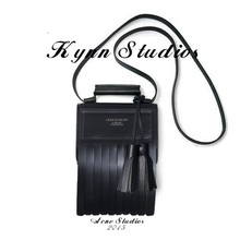 Acne Studios woman shoulder bag tassel genuine leather women bag superior cow leather ladys handbag,free shipping(China (Mainland))