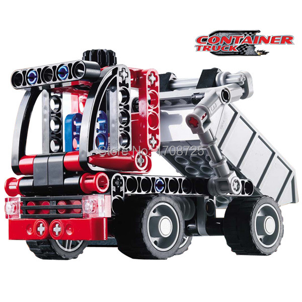 high quality Decool 3345 Transport Truck 119pcs Car Model Building Blocks Sets Educational diy Bricks car Toys(China (Mainland))