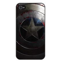 captain america hard case cover iPhone 4s 5s 5c 6s Plus Samsung Galaxy s2 s3 s4 s5 mini s6 edge Note 2 3 4 5 - Art phone store