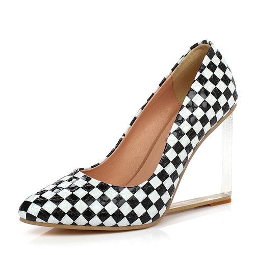 ENMAYER shoes women pumps European American fashion wedges high heels shoes comfortable dress shoes pumps woman Platform pumps