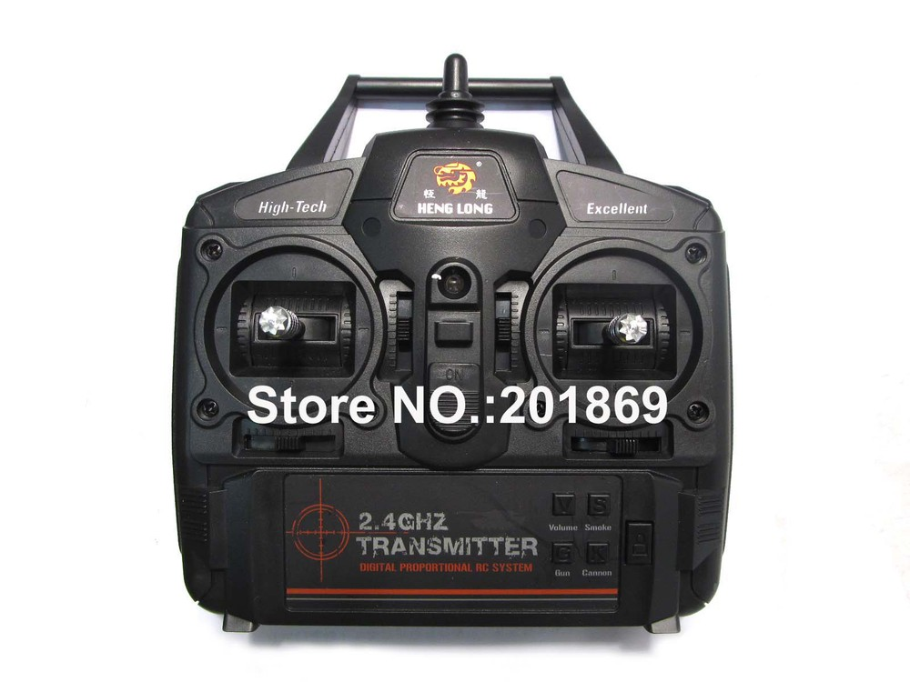 Heng Long Newest 2.4GHz Controller, 2.4GHz transmitter, 2.4GHz remote control unit for 1:16 1/16 all 2.4g henglong rc tanks(China (Mainland))