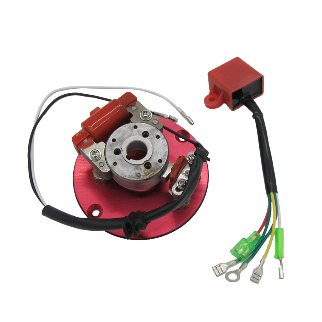 1 Piece High Performance Magneto Coil Inner Rotor Stator Kit 50cc - 125cc Inner Rotor Stator Kit