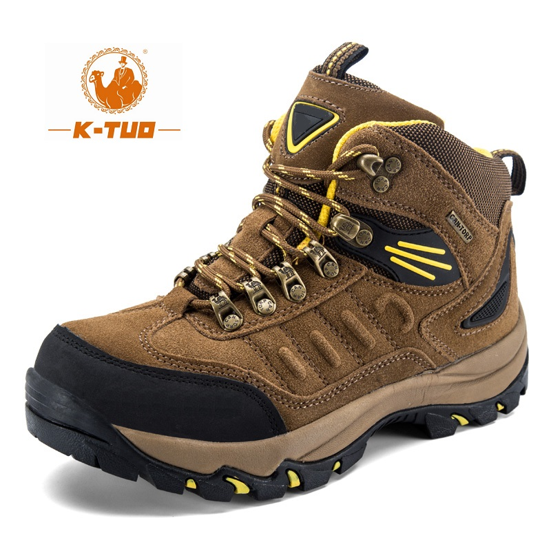 K-TUO New Arrival Men's&Women's Winter Hiking Shoes Lover's Climbing Mountain Outdoor Sport Boots High-top Hiking Sneakers 13006(China (Mainland))