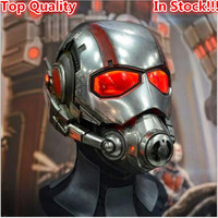 Top Grade 100% Resin Ant Man Mask Antman Costume Ant-Man Helmet Cosplay Halloween Mask Mascaras Mask Batman Iron Man Helmet Toys