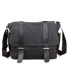 Original Korean shoulder bag/leisure Messenger bag/canvas travel packet/student crossbody schoolbags for teenage/panelled color