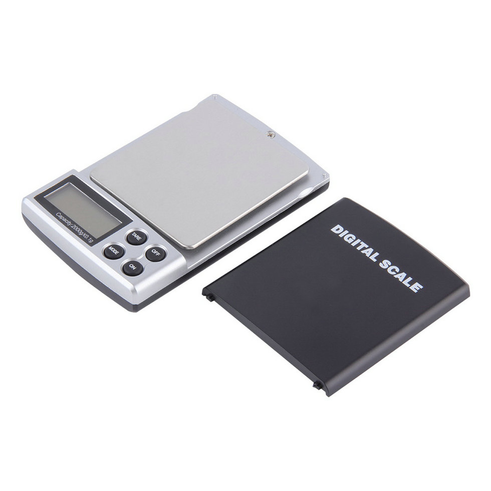 1pc 2000g x 0 1g Portable LCD Display Mini Pocket Electronic Digital Jewelry Scales Weighing Kitchen