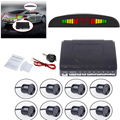 Car LED Parking Sensor Kit Display 8 Sensors 22mm 12V for All cars Reverse Assistance Backup