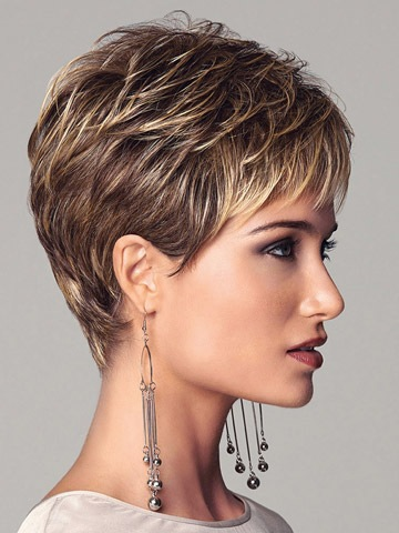 New Cheap Short Synthetic High Temperature Wire Hair Wigs For Women Free Shipping(China (Mainland))