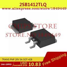 IC Integrated Circuit 2SB1412TLQ TRANS PNP 20V 5A SOT-428 B1412 2SB1412 2 - Chips Store store