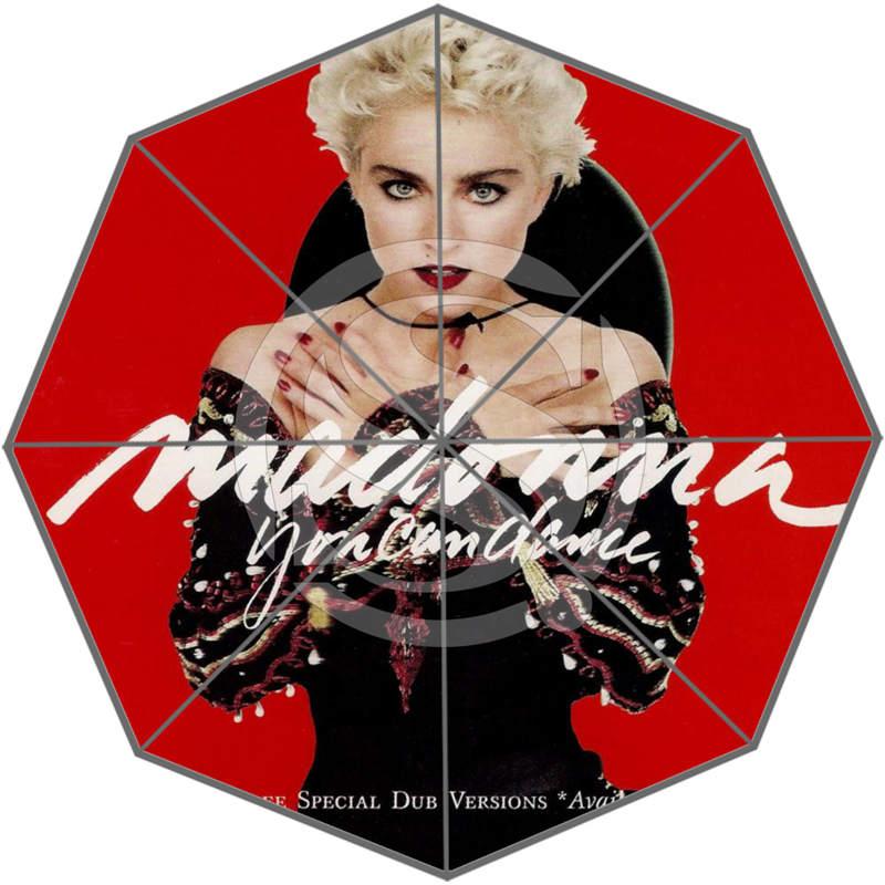 Hot Custom Madonna Nice Cool Design Portable Fashion Stylish Useful Foldable Umbrella Free Shipping SQ0608-U7(China (Mainland))