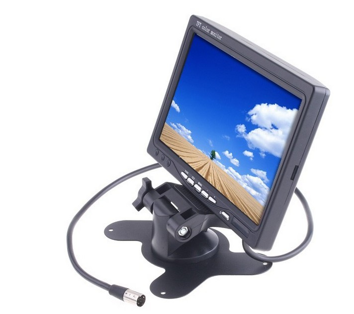 2013 new hot best price 7 inch TFT LCD Color Car Rearview Headrest Monitor DVD VCR FREESHIPPING fashion,beauty functional - Global products store
