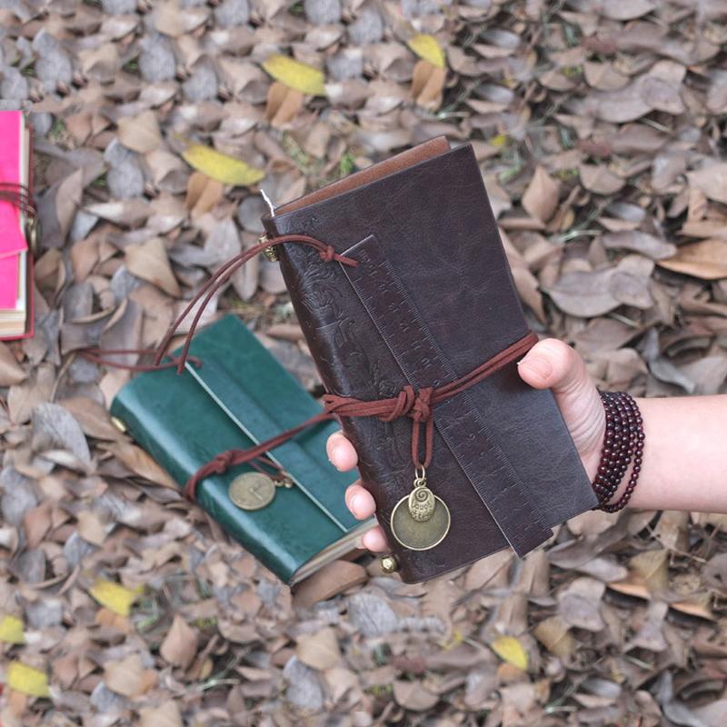 2016 planner ordinateur portable en cuir date occasion ordre du jour organisateur libreta. Black Bedroom Furniture Sets. Home Design Ideas