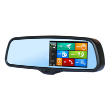 Car rearview mirror and Dedicated voice navigation recorder 1080P double recording electronic dog font b packaging