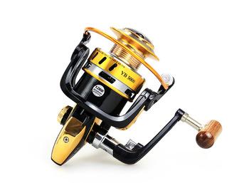 Metal Spinning Fishing Reel 12BB 5.5:1 Fishing tackle Pesca Carrete Spinnning Reel Feeder Carp Fishing Wheel 2000-7000