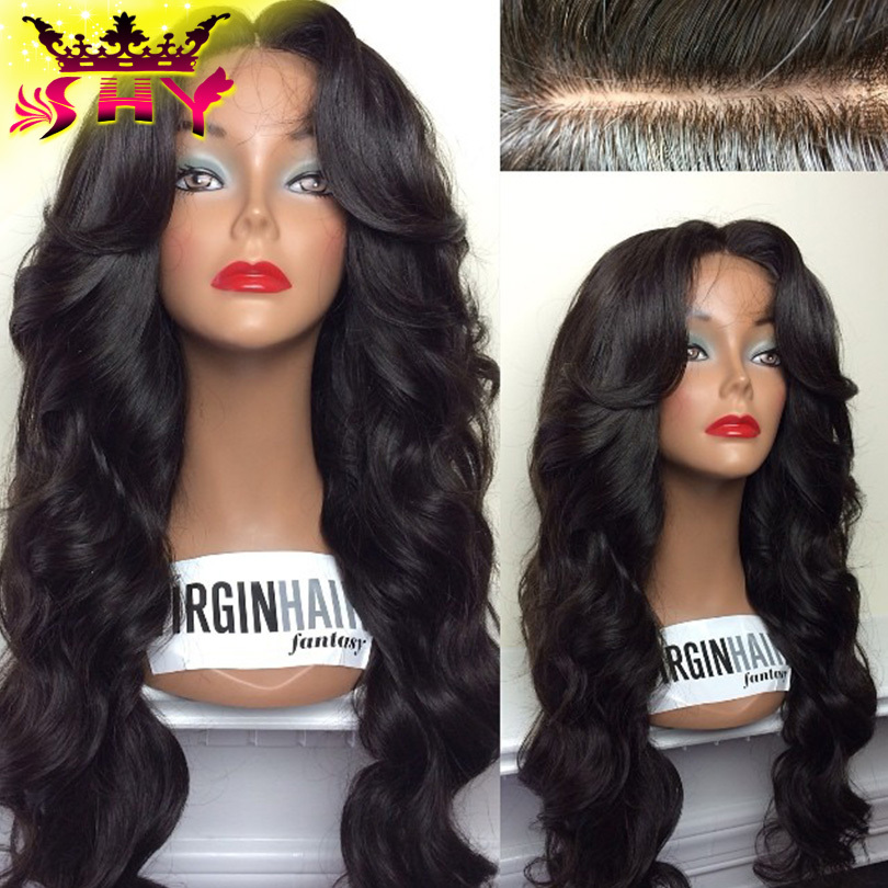 """2015 Hot sale body wave ombre glueless full lace brazilian virgin wigs #1b#27 10""""-26"""" length ombre lace front human hair wigs(China (Mainland))"""