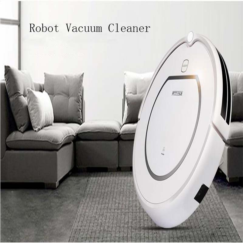 4pc Home use Intelligent Robot Vacuum Cleaner cleaning Wet and Dry Clean+HEPA Filter,Remote control,Self Charge, ROBOT ASPIRADOR(China (Mainland))