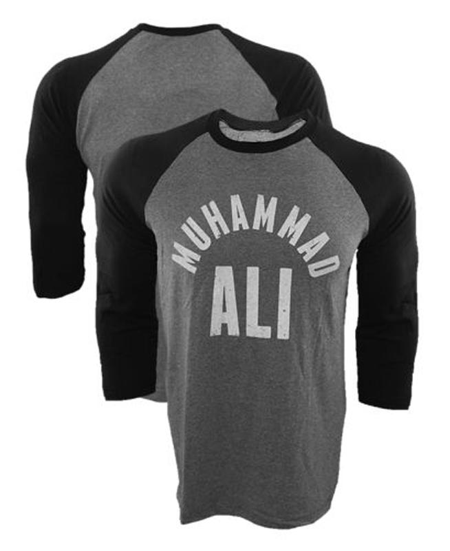 2016 New Brand T-Shirt Muhammad Ali All Stars Raglan T shirt MMA Fighting Long Sleeve Baseball Jersey Tee Shirt USA Size tshirt(China (Mainland))