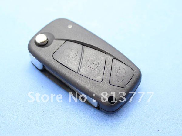Fiat Terios key remote shell Punto control folding replacement - Shenzhen ningmeng Eslite, Trading Co., Ltd. store