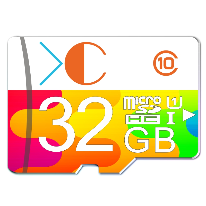 XC 2016 real capacity memory card 32GB colorful 8GB 4GB micro sd card class10 16GB UHS-1 flash card free shipping(China (Mainland))