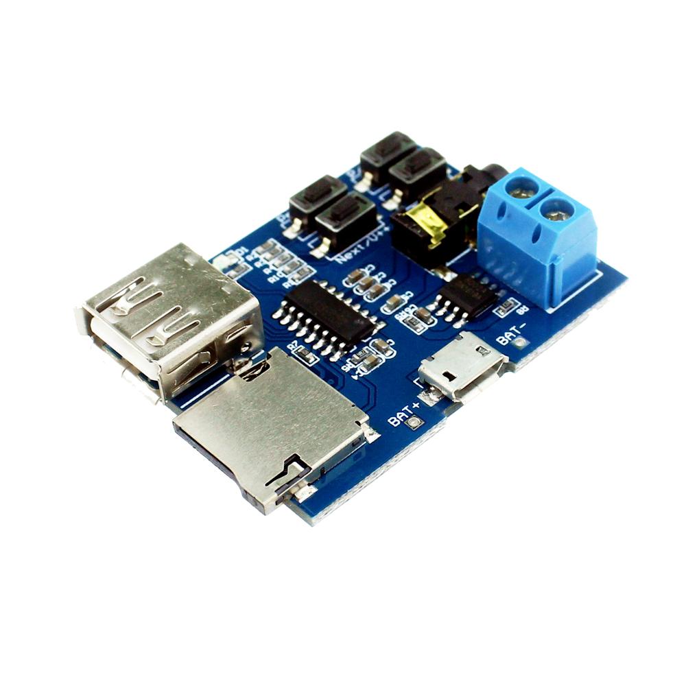 Smart Electronics TF card U disk MP3 Format Decoder Board Module Amplifier Decoding Audio Player(China (Mainland))