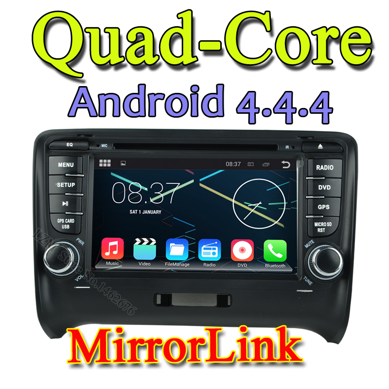 """Android 4.4 HD 2 din 7"""" Car DVD Player for Audi TT 2006 2007 2008 2009 2010 2011 2012 With 3G/WIFI BT IPOD TV Radio USB AUX IN(China (Mainland))"""
