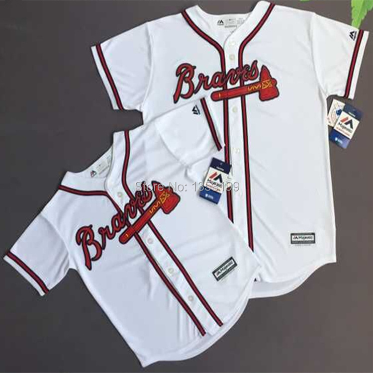 Baseball Jersey Atlanta Braves Youth Team Jersey(China (Mainland))