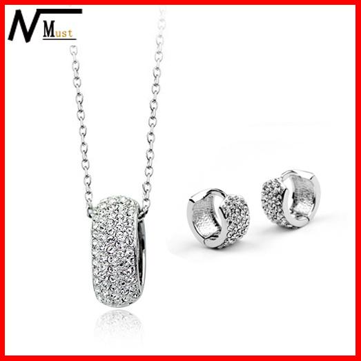 premier designs high quality platinum plated crystal women