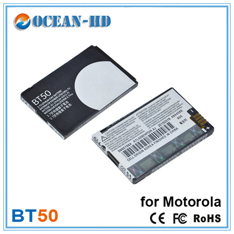 BT50 850mah Rechargeable Lithium Cellphone Battery For Motorola A1200, A630, A732, BA250, C118, C160, C193, C290, E1000, E1070,(China (Mainland))