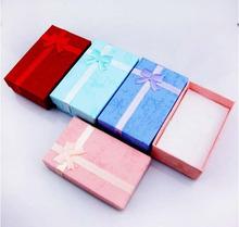 5*8cm Paper Rectangle Jewelry/Gift Packing Box Fit Brithday/Wedding Decoration Fashion Jewelry Box(China (Mainland))