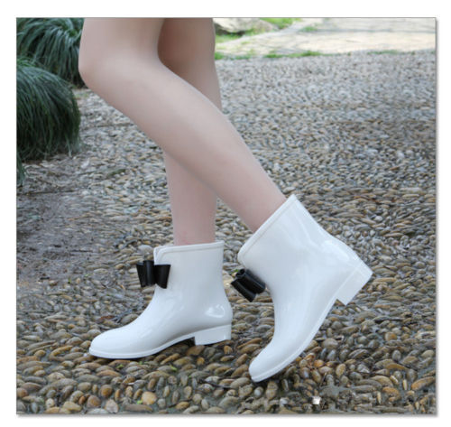 Pink Flat Ankle Boots Ankle Boots Flat Snow Rain