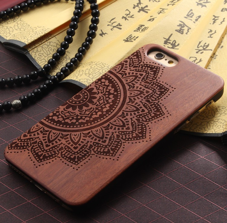 Clissic Wooden Case For iPhone 6 6S With 11 Options