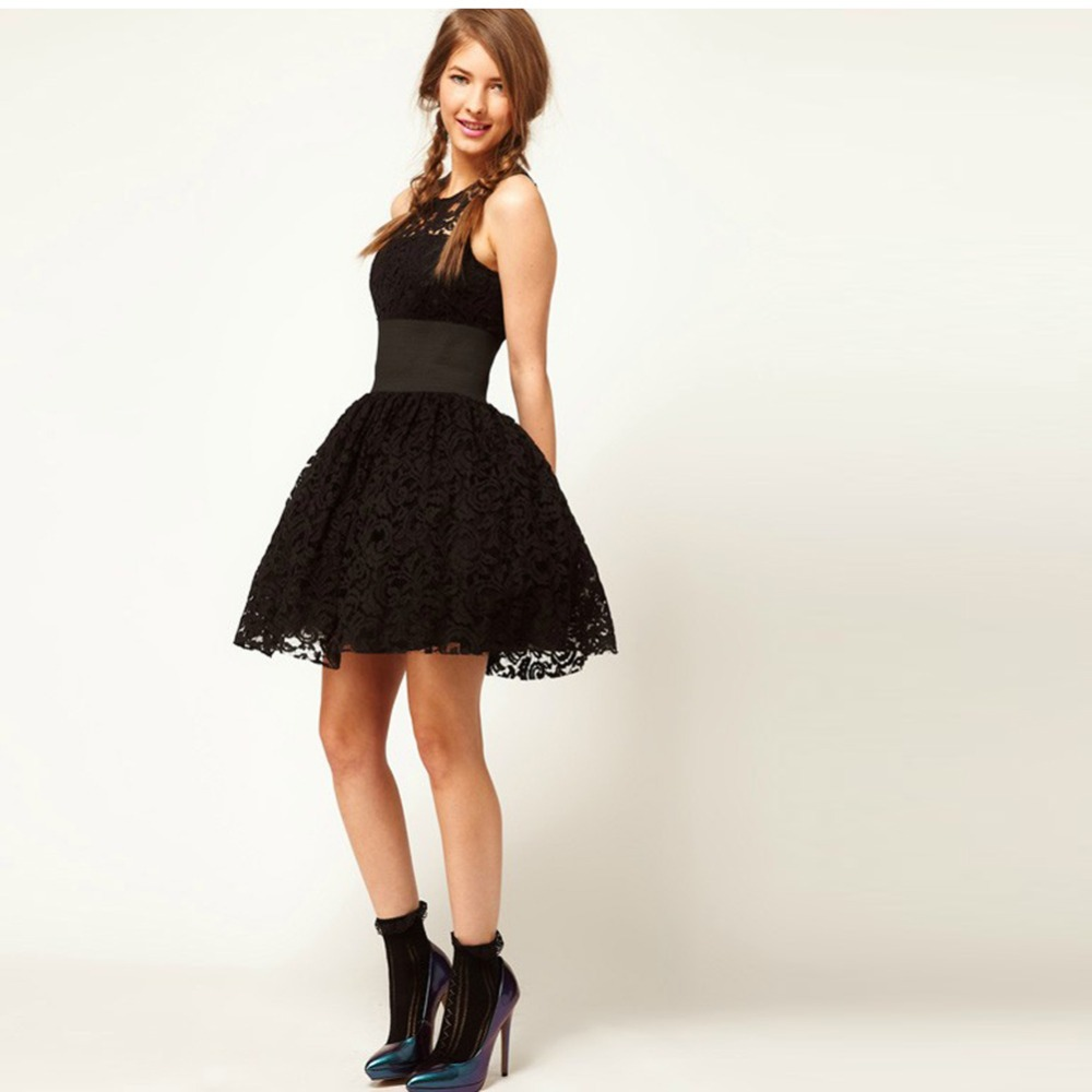 black party dresses for women