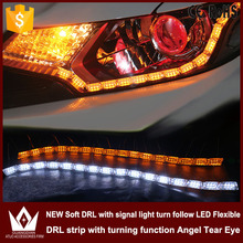 Buy Guang Dian 8w Crystal Angel Tear Eye Daytime running light signal light turn follow DRL LED Flexible side Strip Light for $35.15 in AliExpress store
