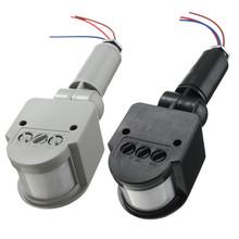 MJJC Hot Sale Outdoor Motion Sensor Wall Light Lamp LED PIR Infrared Motion RF180 Degree Switch Sensor Detector AC85V~260V 12V(China (Mainland))